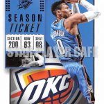 '18-'19 CONTENDERS [NO.43] Russell Westbrook – ラッセル・ウェストブルック