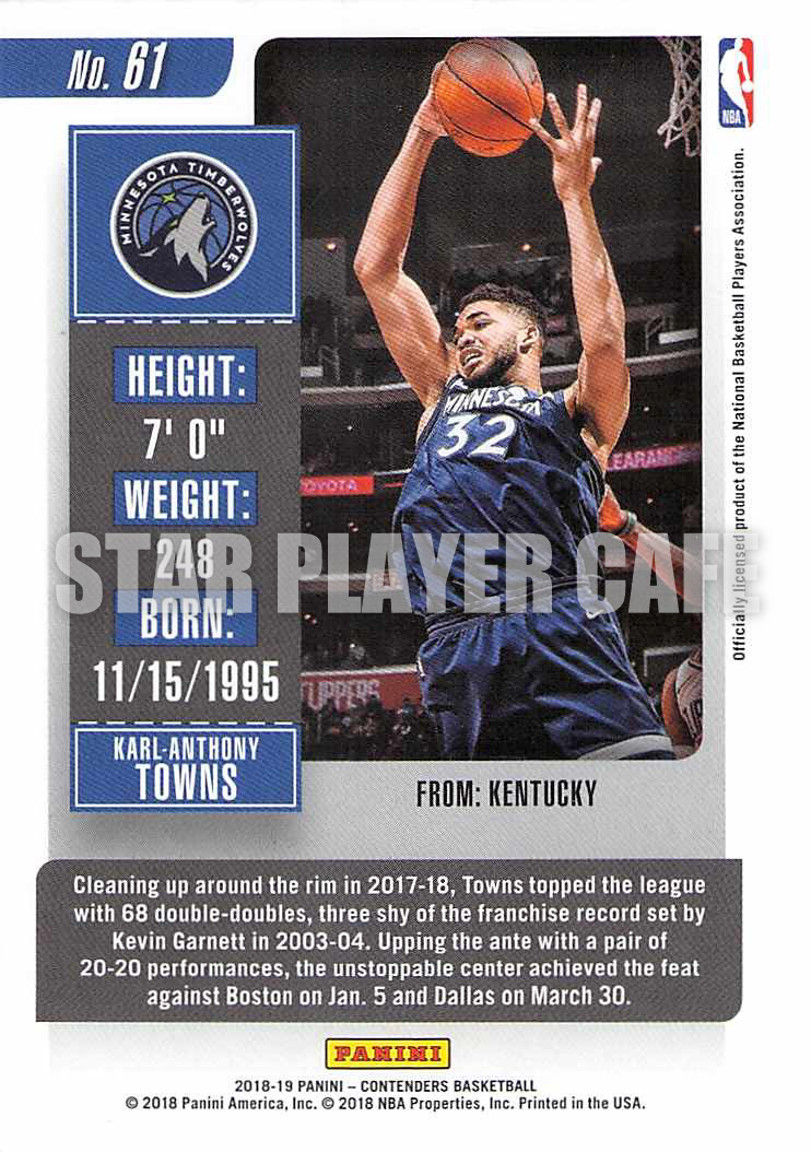 1819CT0061-KARLANTHONYTOWNS