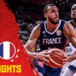 フランス代表がスター軍団アメリカ代表を破り準決勝へ!FIBAバスケットボールワールドカップ。
