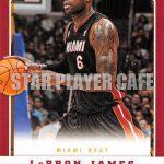 2012-2013 PANINI BASKETBALL [NO.104] LEBRON JAMES – レブロン・ジェームス