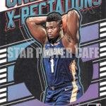 ZION WILLIAMSON – ザイオン・ウイリアムソン 2019-2020 DONRUSS BASKETBALL NO.GX-7 Great X-PECTATIONS